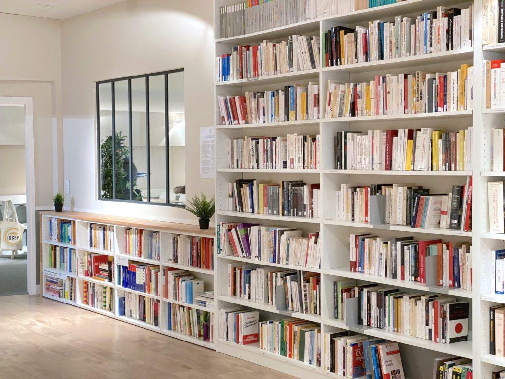 bibliothèque de l'ISSEP