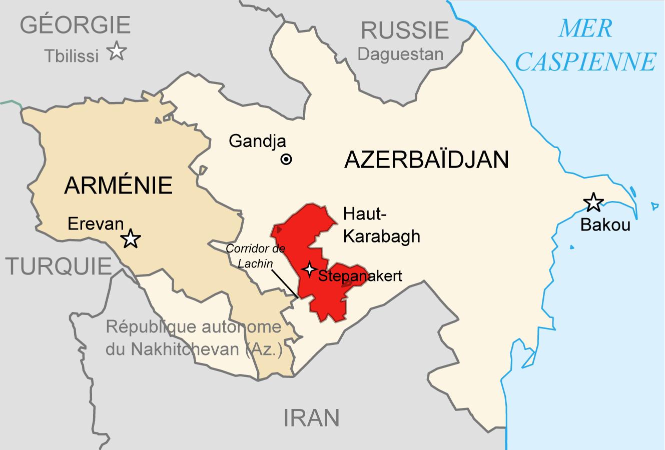 Note d'actualité - Pierre-Emmanuel Thomann - Bilan géopolitique du conflit au Haut-Karabagh : le grand jeu des puissances