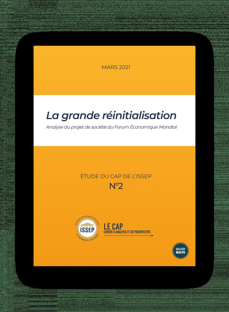 Couverture recto etude - La grande réinitialisation - great reset