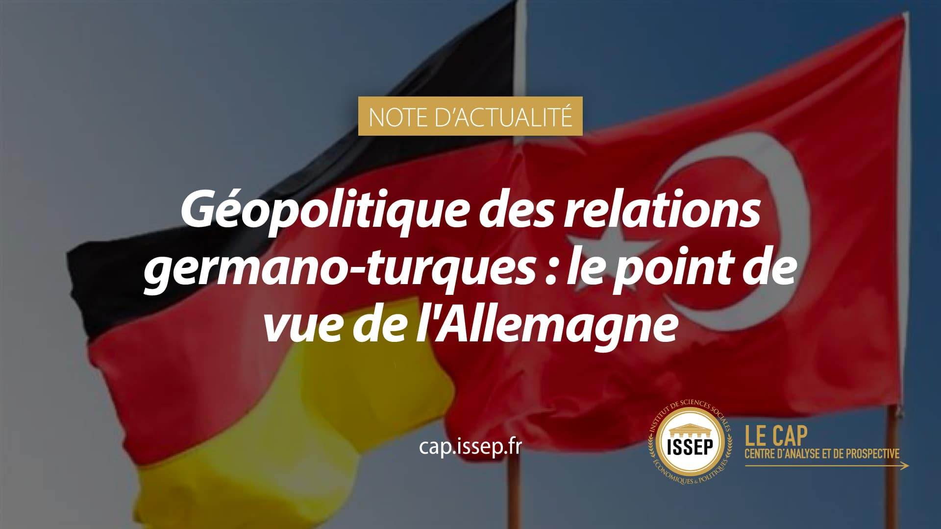 Note d'actualité - relations germano-turques