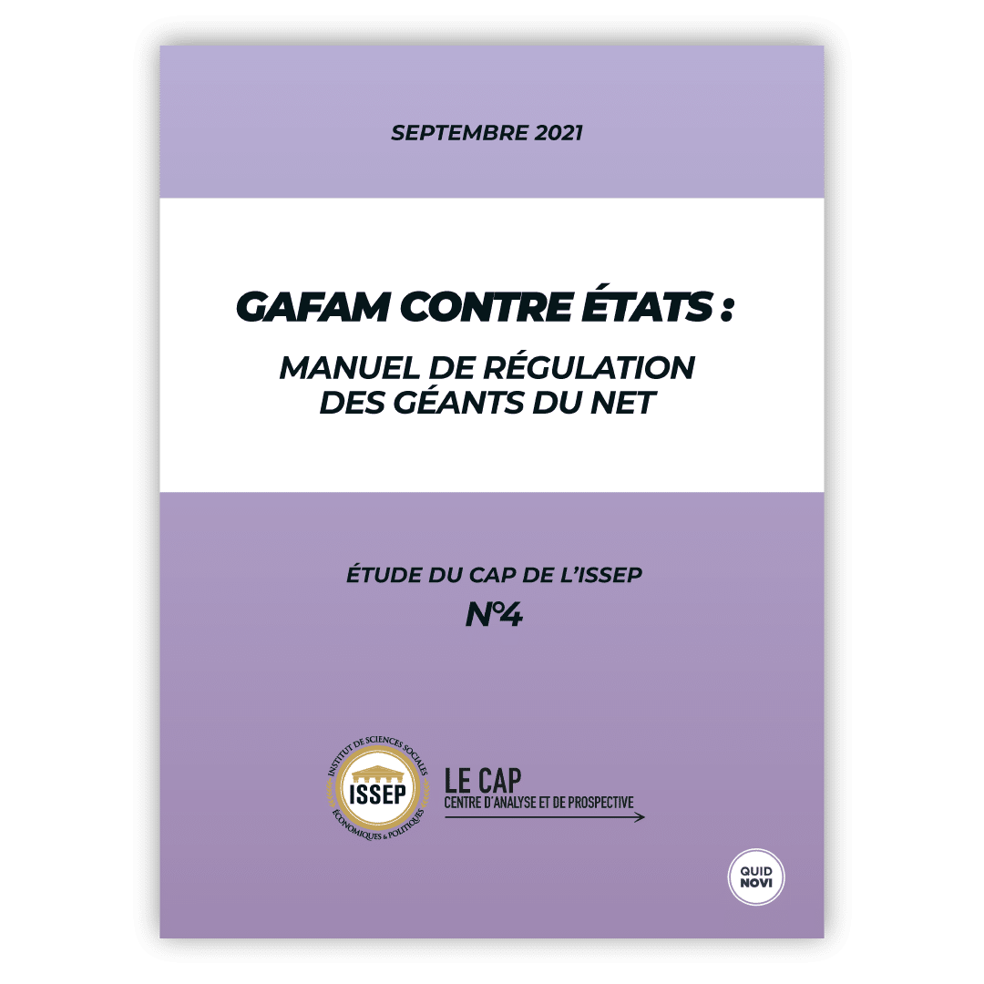 GAFAM contre États : manuel de régulation des géants du net